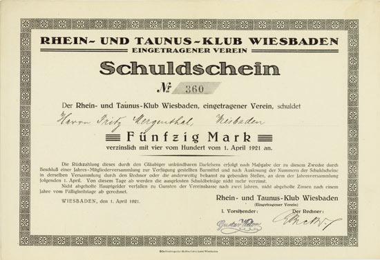 Rhein- und Taunus-Klub Wiesbaden e.V.