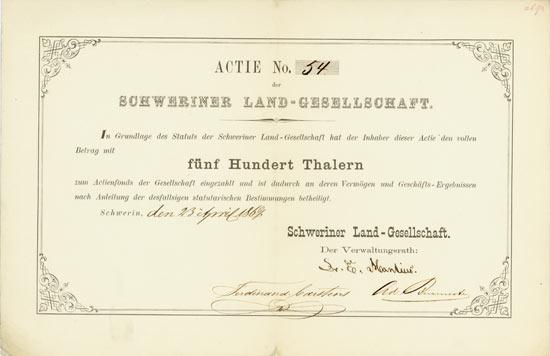 Schweriner Land-Gesellschaft