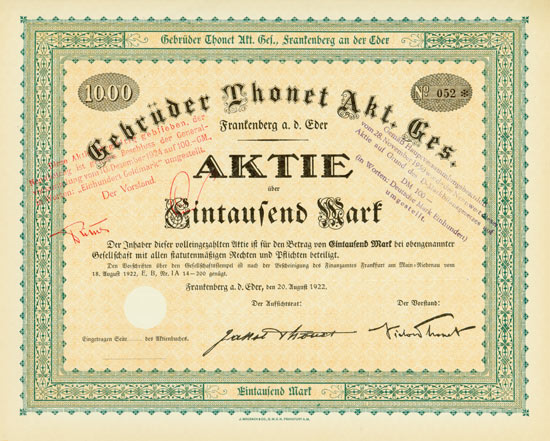 Gebrüder Thonet AG