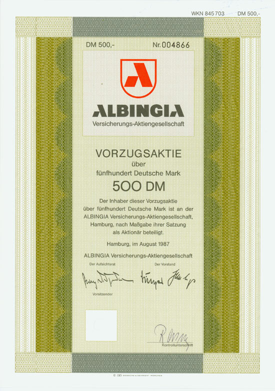 Albingia Versicherungs-AG