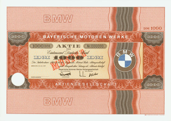 Bayerische Motoren Werke AG