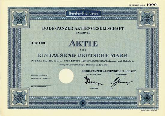 Bode-Panzer AG