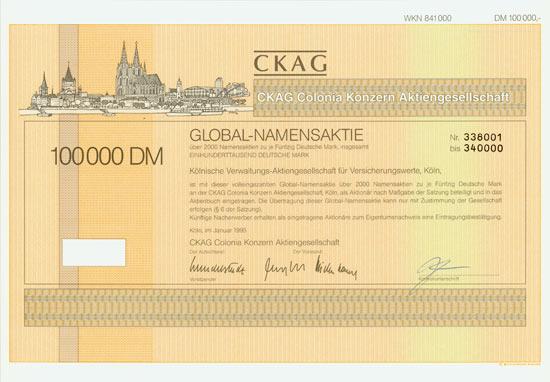 CKAG Colonia Konzern AG