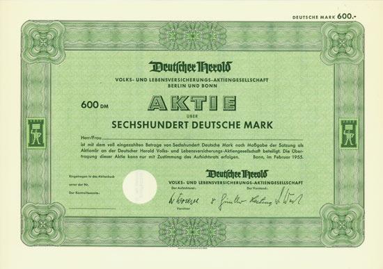 Deutscher Herold Volks- und Lebensversicherungs-AG