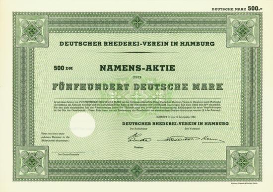 Deutscher Rhederei-Verein in Hamburg