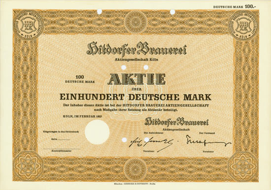 Hitdorfer Brauerei AG