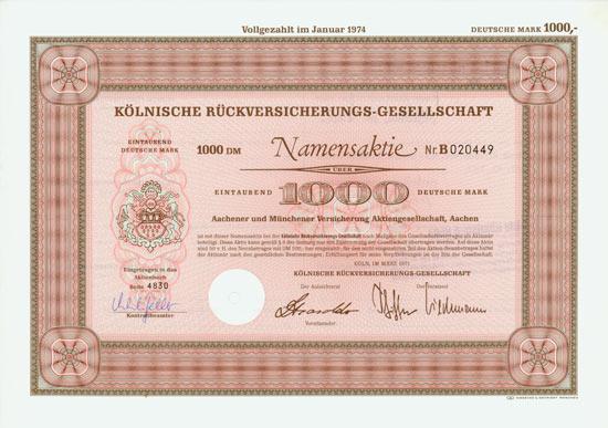 Kölnische Rückversicherungs-Gesellschaft