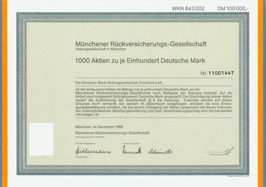 Münchener Rückversicherungs-Gesellschaft