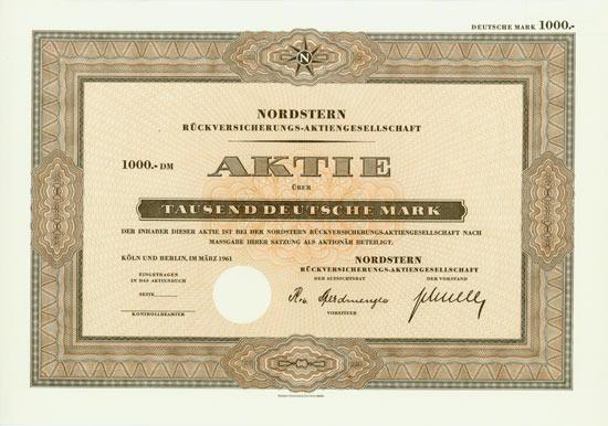 Nordstern Rückversicherungs-AG