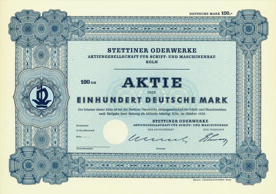 Stettiner Oderwerke AG für Schiff- und Maschinenbau