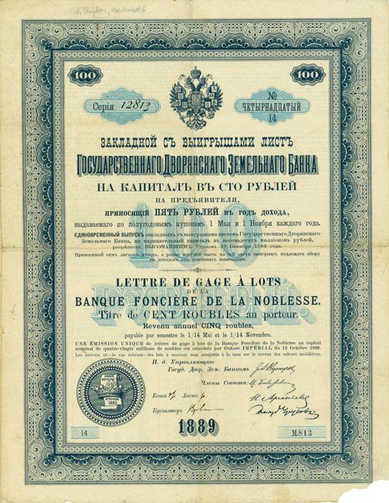 Banque Foncière de la Noblesse