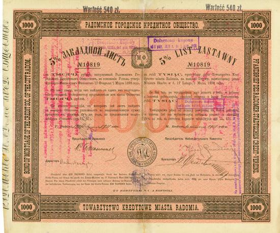 Radomer Städtischer Credit-Verein