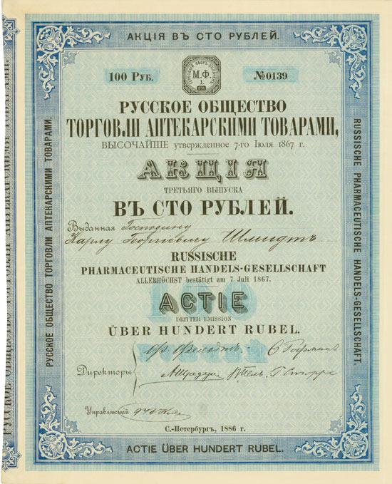 Russische Pharmaceutische Handels-Gesellschaft