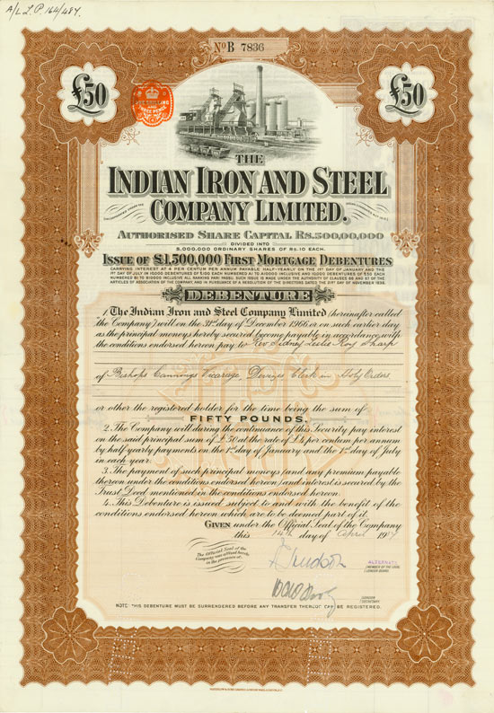 Indian Iron and Steel Company