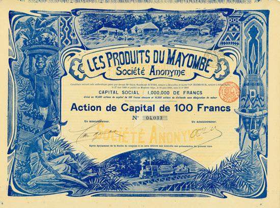 Les Produits du Mayombe Société Anonyme