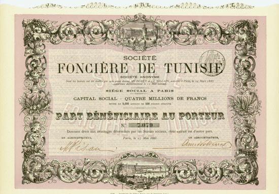 Société Foncière de Tunisie Société Anonyme