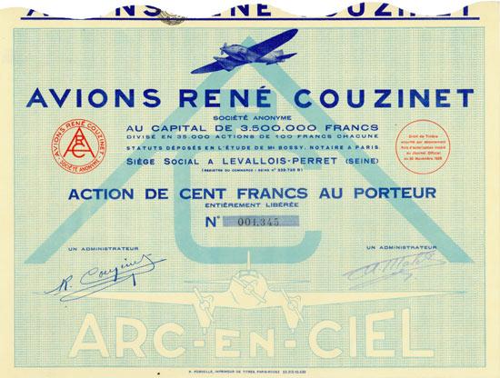 Avions René Couzinet Société Anonyme