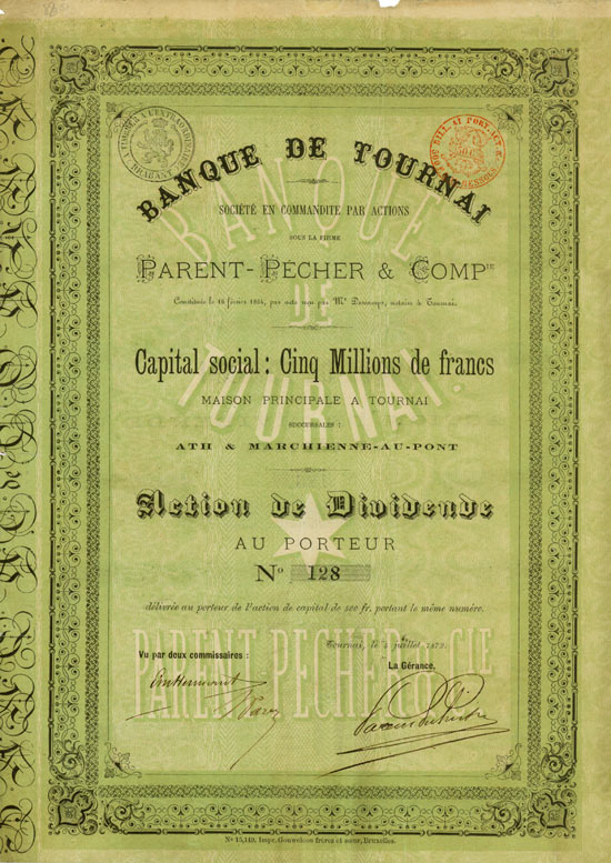 Banque de Tournai