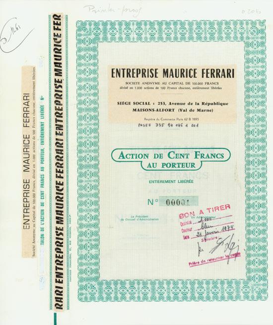 Entreprises Maurice Ferrari
