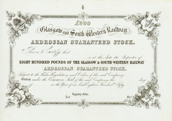 Glasgow and South Western Railway