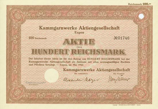 Kammgarnwerke AG