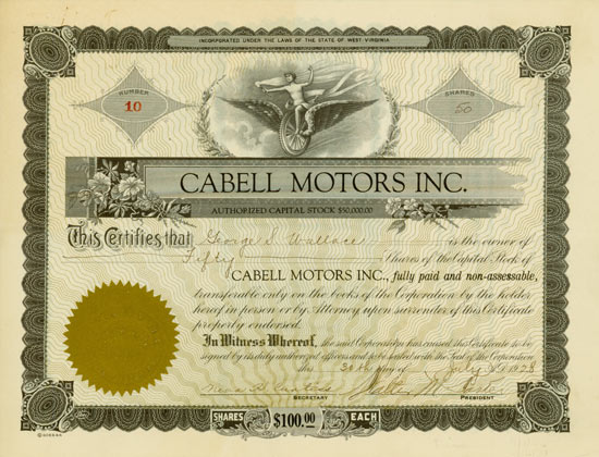 Cabell Motors Inc.