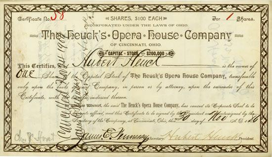Heuck's Opera House Company