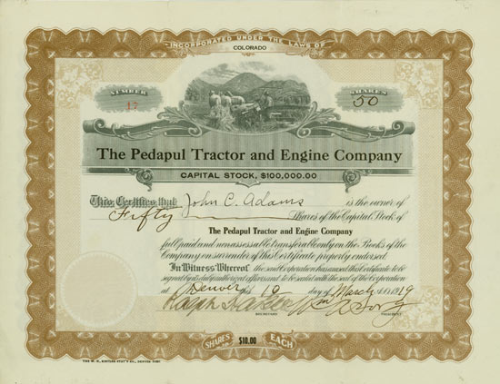 Pedapul Tractor and Engine Company
