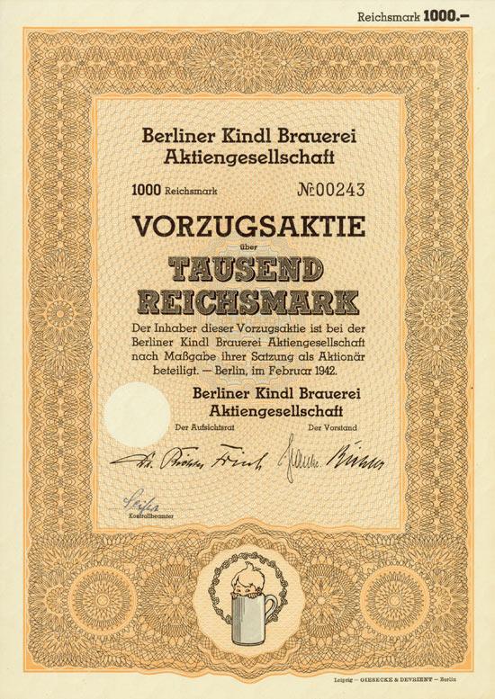 Berliner Kindl Brauerei AG