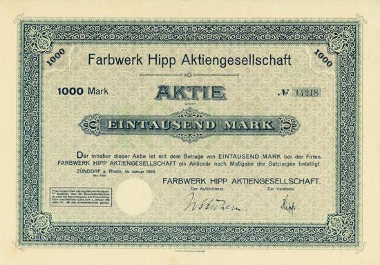 Farbwerk Hipp AG