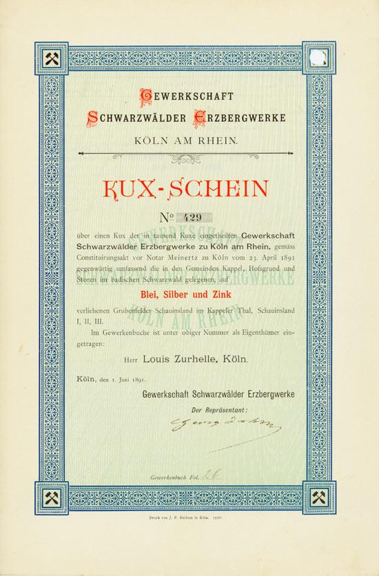 Gewerkschaft Schwarzwälder Erzbergwerke