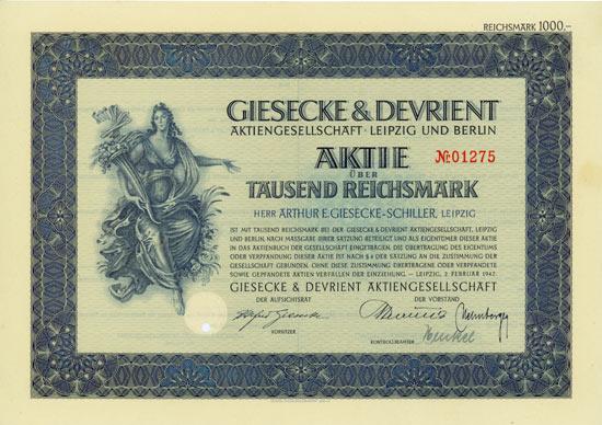Giesecke & Devrient AG