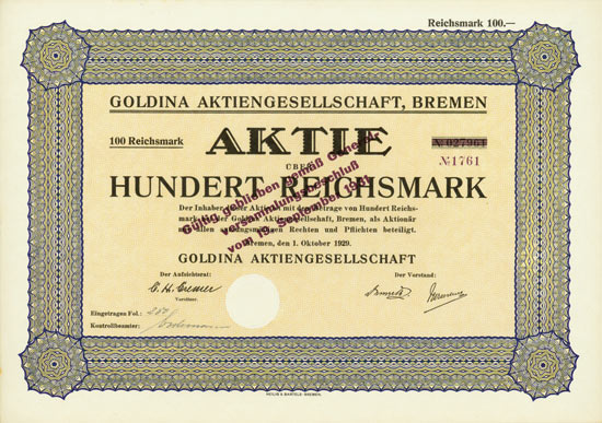 Goldina AG