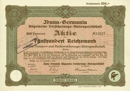Iduna-Germania Allgemeine Versicherungs-AG
