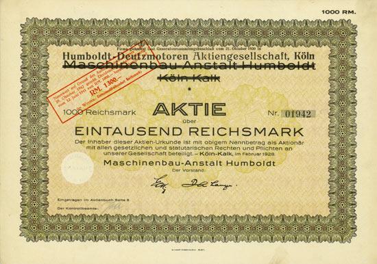 Maschinenbau-Anstalt Humboldt