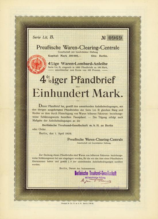 Preussische Waren-Clearing-Centrale