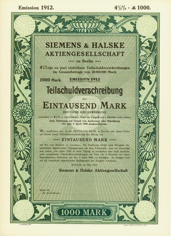 Siemens & Halske AG
