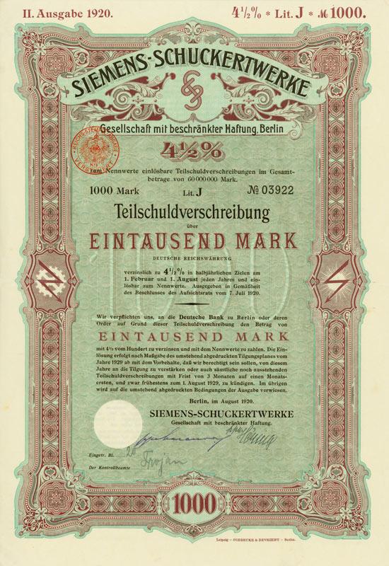 Siemens-Schuckertwerke GmbH