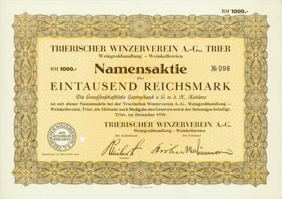 Trierischer Winzerverein AG Weingroßhandlung - Weinkellereien