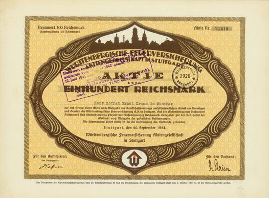 Württembergische Feuerversicherung AG
