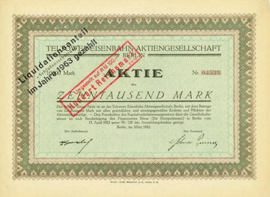 Teltower Eisenbahn AG