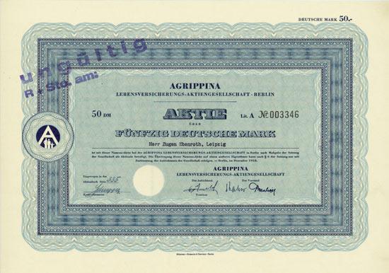 Agrippina Lebensversicherungs-AG