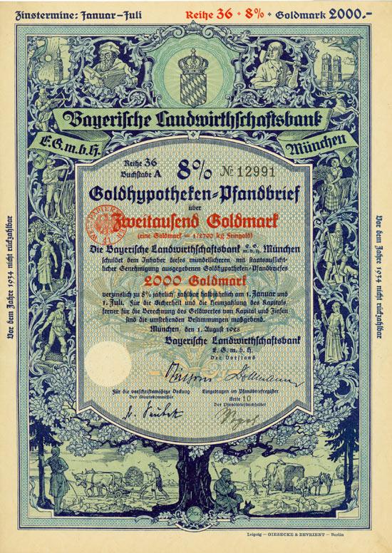 Bayerische Landwirthschaftsbank eGmbH