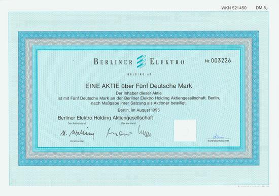 Berliner Elektro-Holding AG