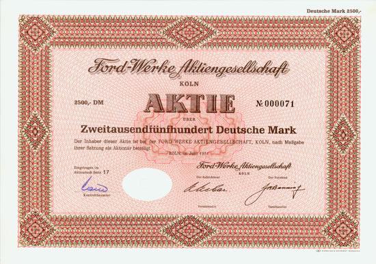 Ford-Werke AG