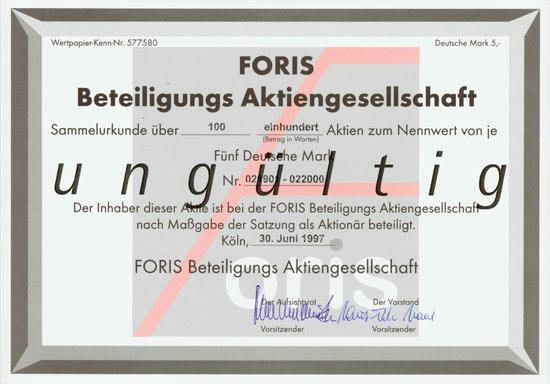 FORIS Beteiligungs AG