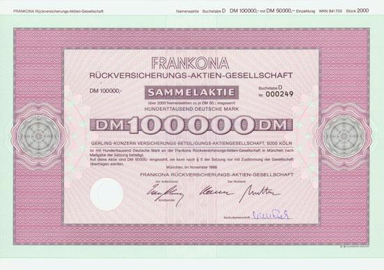 Frankona Rückversicherungs-AG