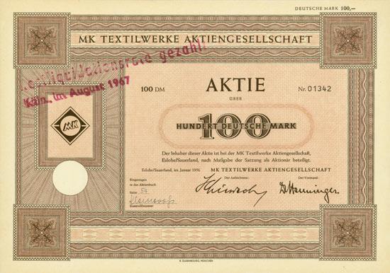 MK Textilwerke AG