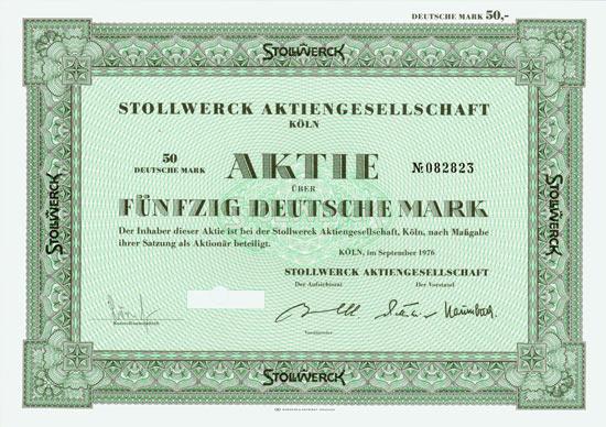 Stollwerck AG