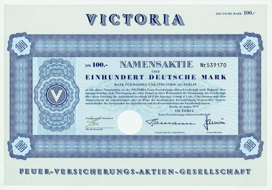 VICTORIA Feuer-Versicherungs-AG